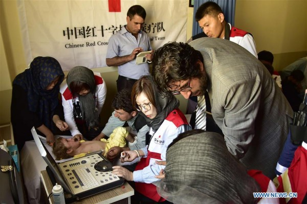 Chinese Red Cross aids CHD children in Afghanistan